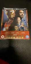 Iron Man Zavvi 4k Blu ray Steelbook Ovp