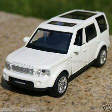 Land Rover Discovery 4 Model Cars 1:32 Toys Collection&Gifts Alloy Diecast White