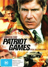 Patriot Games (Special Collector's Edition) * NEW DVD * (Region 4 Australia)