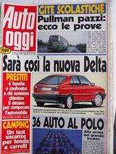 Auto OGGI n°178 1990 Test di tutte le ALfa 164 Twin Spark Turbo TD 3.0 V6 [Q200]