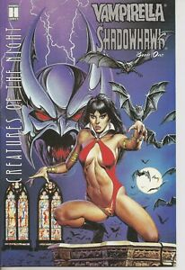 °VAMPIRELLA / SHADOWHAWK BOOK ONE° US Image/Harris 1995 Crossover