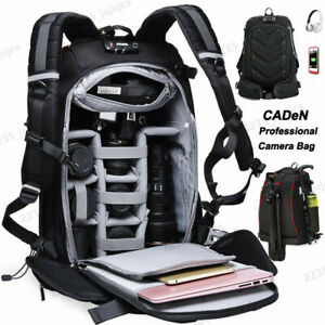 K7-Ⅶ Large Capacity Professional Camera Bag Backpack For Canon Nikon Sony SLR