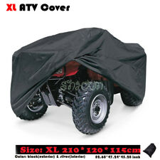 Heavy Duty XL 190T Waterproof ATV Cover Fit Polaris Honda Yamaha Can-Am Suzuki
