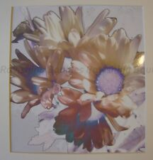 """Peace"" Art Photograph White Daisies Original Photo Signed 2018 Hand Cut Mat"