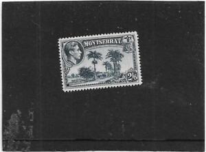 MONTSERRAT 1938-48 PICTORIAL 2/6 SLATE-BLUE PERF.14 BOTANIC STATION SG.109A MLH
