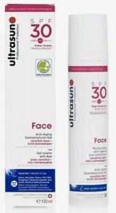 ULTRASUN Face- Moisturising, Anti-Ageing Sun Protection SPF30 100ml New