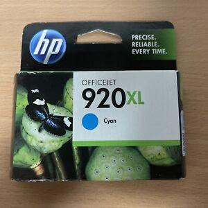 HP 920XL CD972AA CYAN Inkjet Cartridge - GENUINE