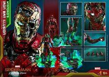 HotToys HT MMS580 1/6 Mysterio's Iron Man Illusion Spider-man Action Figure