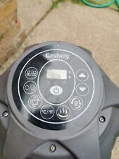 Bestway Lazy laz y Spa Water Pump/Heater/ Inflater with rcd safety built in