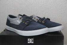 Original chaussure cuir femme skate DC SHOES Bristol LE    T 39  bleu blanc neuf