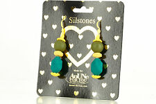 NEW AnUNe- For You Silstones Earrings No 106, 1 Pair, Silicone Jewelry, women