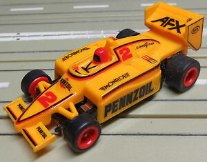 For H0 Slotcar Racing Model Railway Formula 1/Indy With Tomy Engine