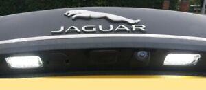 LED License Number Plate Lights Lamps For Jaguar XF XJ