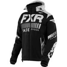 Fxr Mens Black/White Rrx Snowmobile Jacket