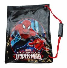 Marvel Ultimate Spiderman 'Neon' School Swim Bag Brand New Gift