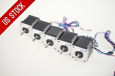 US Free Ship 5pcs Nema17 Stepper Motor 78oz.in 1.5A 1m cable connector LONGS