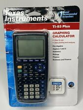 New ListingTexas Instruments Ti-83 Plus Graphing Calculator with Cover - Brand New