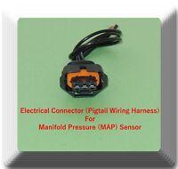 Electrical Connector of Manifold Pressure (MAP) Sensor AS394 Fits:GM Saab Isuzu