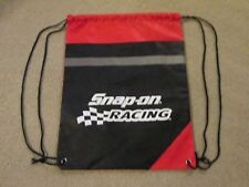 NHRA..SNAP ON RACING..13 1/2in X 17 1/2in..DUAL POUCH BACKPACK..NEW