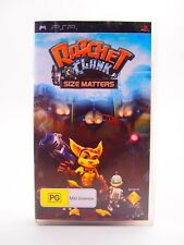 Ratchet & Clank: Size Matters, Sony Playstation Portable, Video Game, PSP