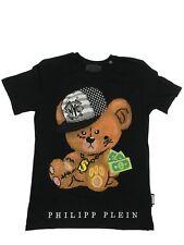 Philipp Plein T-Shirt Rundhals Baby Schwarz Gr.XL