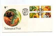 Venda - 1983 Subtropical Fruit FDC of postage stamps