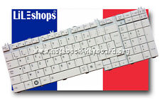 Clavier Français Original Blanc Pour Toshiba Qosmio F750-129 F750-12Q NEUF