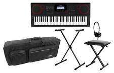 Casio CT-X3000 MIDI Keyboard Deluxe Set 61 Tasten E-Piano Ständer Bank Kopfhörer