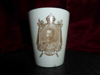 Antique CORONATION CUP King George V & Queen Mary 1911 Royal Doulton Memorabilia