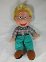 """The Puzzle Place My Friend Doll Ben Olafson 14"""" Plush Fisher Price 1994 W/ Tag"""