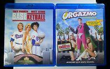 Baseketball and Orgazmo Blu-ray Trey Parker Matt Stone Bundle New