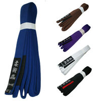 Professional Quality  Jiu Jitsu Gi Belts 100% Cotton Material Bjj Master Belt