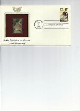 First day cover, Golden Replica stamp, & actual stamps, Public Education in Amer