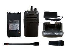 ICOM F4101D 01 RC UHF 400-470MHZ RADIO POLICE FIRE 16CH 4W Digital IDAS ANALOG