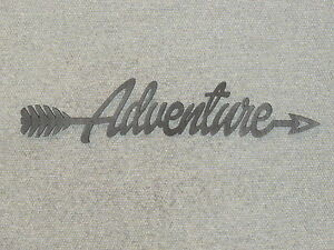 Adventure Arrow Wood Wall Sign Home Decor