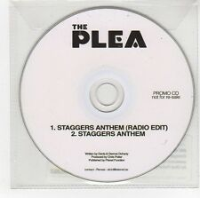 (GI85) The Plea, Staggers Anthem - 2012 DJ CD