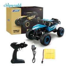 4WD RC Monster Truck Off-Road Vehicle 2.4G Remote Control Buggy Crawler Car New