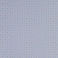 Studio G Shooting Stars Chambray Fabric Remnant 100% Cotton 50cm x 40cm