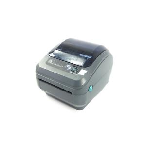 Zebra GK420d Thermal Label Printer (GK42-202520-000) - BUTTON COVER DAMAGED