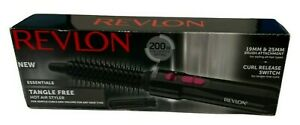 Revlon Tangle Free Hot Air Gentle Curl Styling Drying Brush 200 W New And Boxed