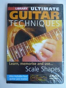 Lick Library: Ultimate Guitar Techniques - Scale Shapes (DVD, 2005) New & Sealed