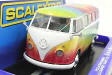 SCALEXTRIC HIPPIE VW VOLKSWAGEN VAN CUSTOM AIRBRUSHED NEW 1/32 SLOT CAR DPR