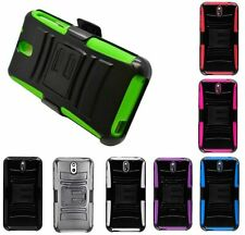 For HTC Desire 626 626S Robotic Holster Belt Clip Combo KickStand Cover Case NEW