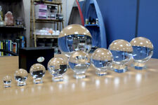 Clear Crystal Ball on a  Stand 30mm - 200mm. Optical Glass Use in Feng Shui