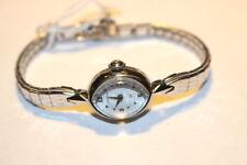 #9857,Lady Hamilton 10K White RGP,17JVintage Wristwatch