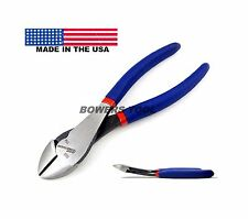 Pro America 7 in. Offset Angled Diagonal Cutters Wire Cutter Pliers Dikes USA