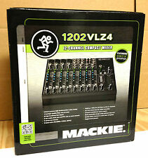 "Mackie 1202- VLZ4 mixer ""MINT"" Great Mixer Great Deal SHIPPING INCLUDED 1202vlz4"