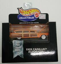 Hot Wheels Collectibles Limited Edition 1959 Cadillac Eldorado Woodie 1998 MIB!