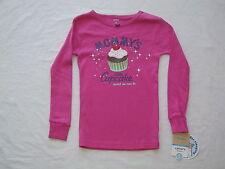Carter's Pink Cupcake Pajama (Top Only) Girls size 5 NWT G82168