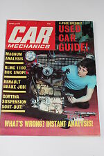 Car Mechanics April 1974, Weber 32/36 DGVFA/Vauxhall Magnum Test (Viva)/Riley RM